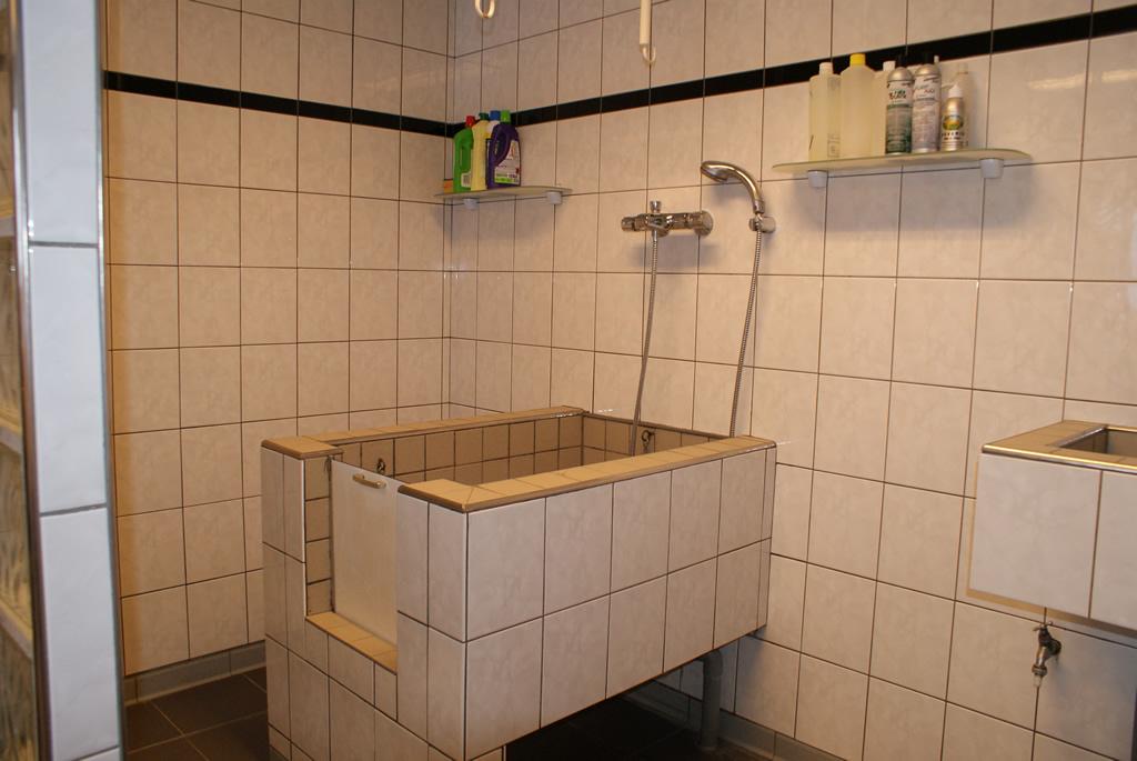 Hondentrimsalon Wilma van der Meijs  Mijn salon in Tilburg en Breda # Wasbak Hond_182910